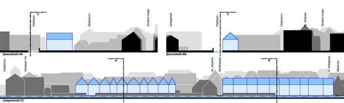 rahmenplan m hlbach in landsberg am lech architekturb ro christoph maas m nchen. Black Bedroom Furniture Sets. Home Design Ideas