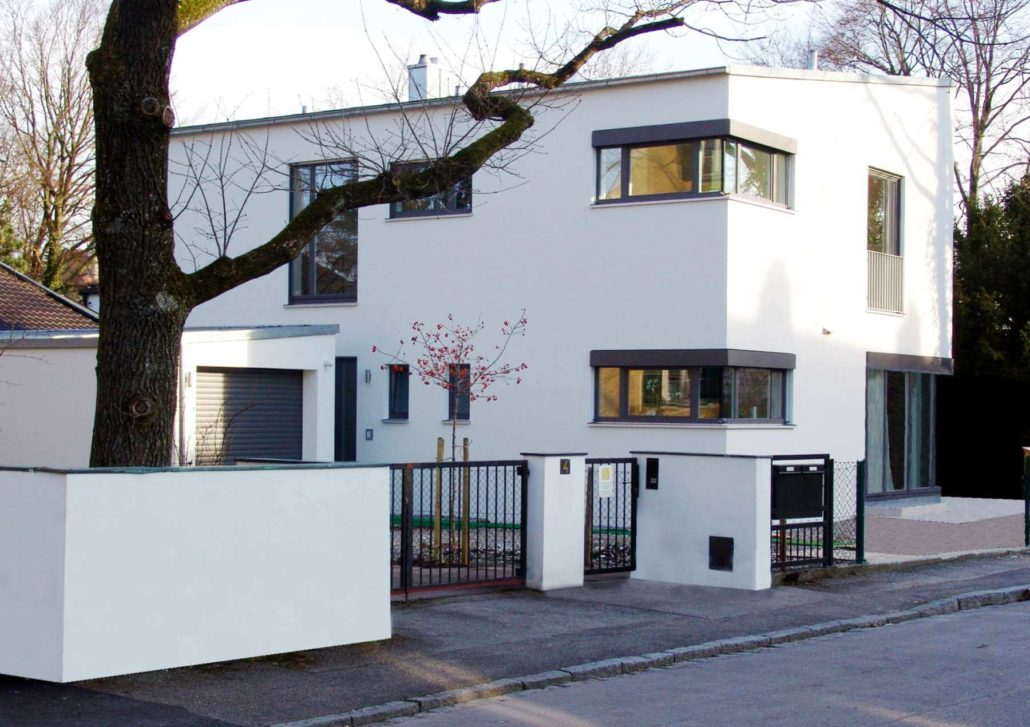 neubau wohnhaus in landsberg am lech architekturb ro christoph maas m nchen. Black Bedroom Furniture Sets. Home Design Ideas