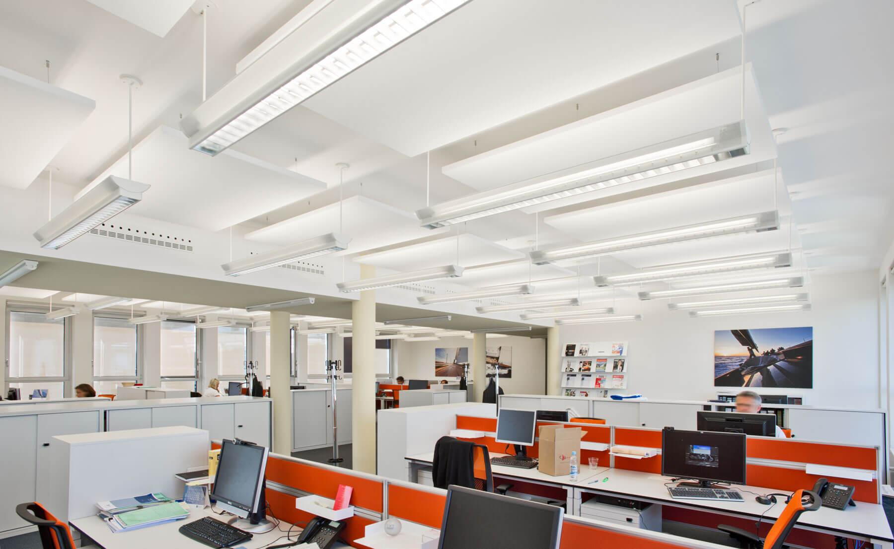 Umbau und Modernisierung von Büro-, Konferenz- und Casinoflächen