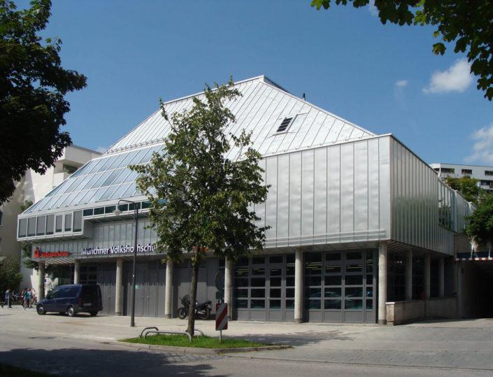 Stadtbibliothek und VHS Hadern