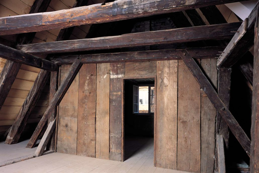 mesnerhaus in landsberg am lech architekturb ro christoph maas m nchen. Black Bedroom Furniture Sets. Home Design Ideas